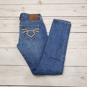 Big Star Casey Skinny Jeans Size 27 Low Rise